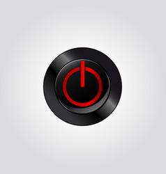 button power vector image vector image