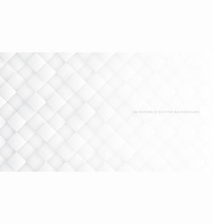 3d rhombus white abstract background vector