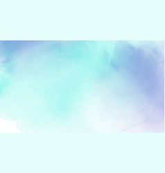 abstract light blue and purple watercolor vector image
