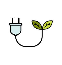 biomass energy flat icon sign symbol vector image