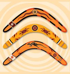 Boomerangs vector