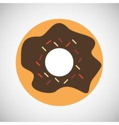 Donut icon design vector