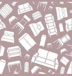 furniture background 03 vector image