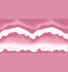 Original summer wave pattern ocean sea sea foam vector