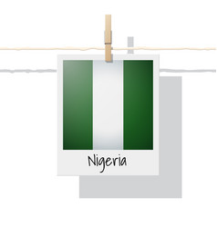 Photo of nigeria flag vector