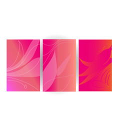 pink love background theme vector image