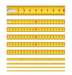 Seamless tape measure vector