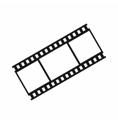 Film with frames icon simple style vector image