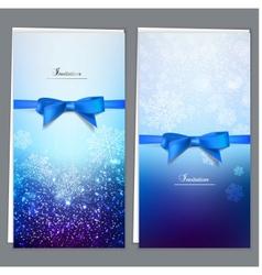 Elegant invitation cards template vector