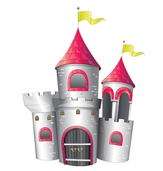 A big palace vector image