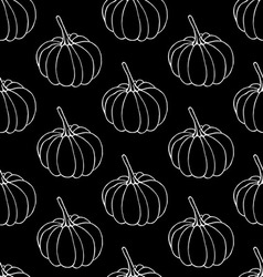 Pumkins pattern vector image vector image