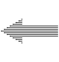 arrow icon direction arrow sign symbol next vector image