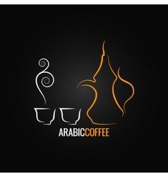 Coffee vintage design vector