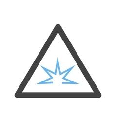 Danger of Welding Flash vector