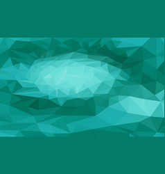 green triangular background vector image