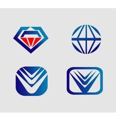 Logo marks and symbols vector