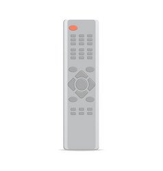Remote control for satellite receiver icon vector