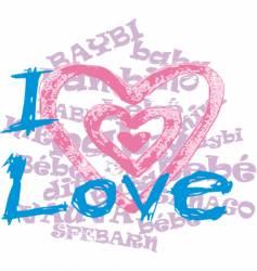 Romance design vector