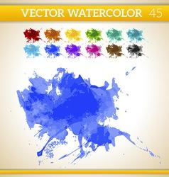Water color texture vector