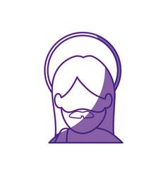 jesus christ icon vector image vector image