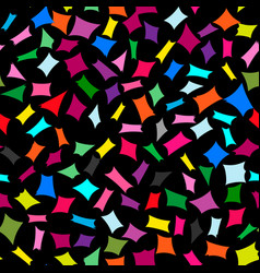 abstract bright colorful seamless element pattern vector image