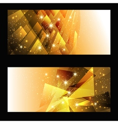 Abstract brochures vector