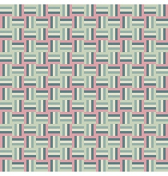 Abstract green pink pixel background vector