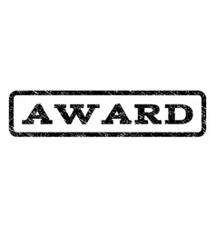 award watermark stamp vector image