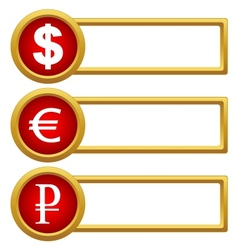 Exchange Rate icons vector