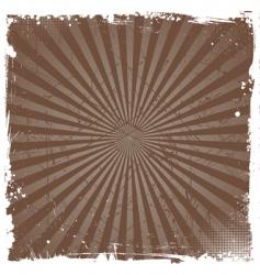 grunge star burst vector image vector image