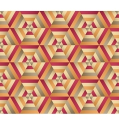 Hexagon background seamless geometrical pattern vector image