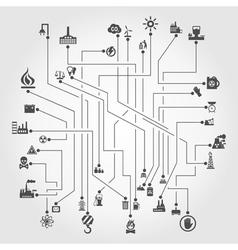 Industry scheme vector
