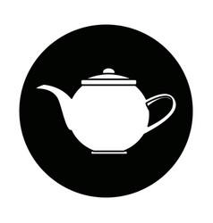 Kettle coffee tea hot beverage fresh vector