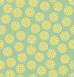 Lemon pattern seamless vector