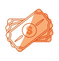 Money billet symbol vector