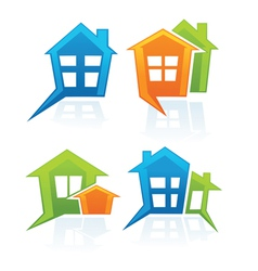 my sweet home vector image