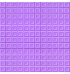 Purple volume squares vector image