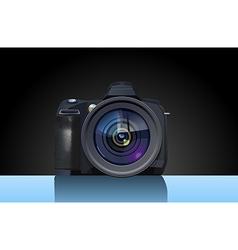 Reflex camera vector image