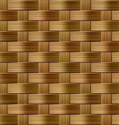 seamless wicker pattern vector image