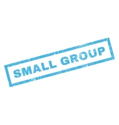 Small Group Rubber Stamp vector