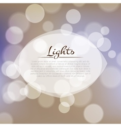 Stock fuzzy texture with bokeh effect and frame vector