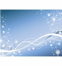 Winter abstract vector