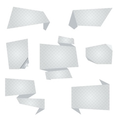Flat Banners vector image vector image