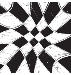Texture Diagonale Checkered Grunge vector image vector image