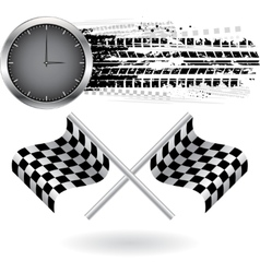 Speed background vector image vector image