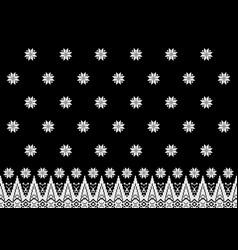 Black songket vector