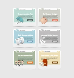 Design elements concept icons vector image