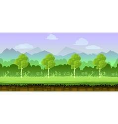 game background 2d application design vector image