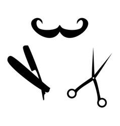 Hairdressersaccessories vector