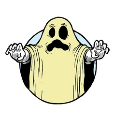 Halloween Ghost Costume vector image